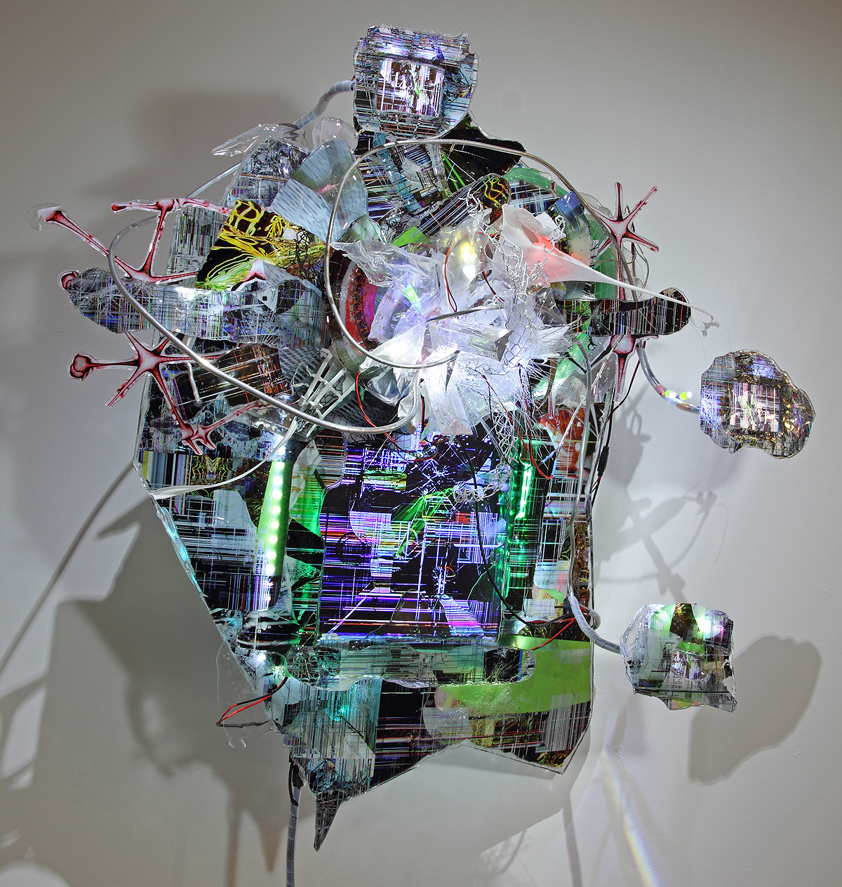 """""""Screenscaping #3_ Aesthetics of Decay"""" Video Sculpture by [dNASAb]"""